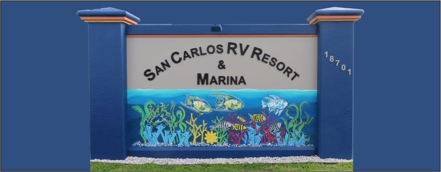 Entrance to San Carlos RV Park